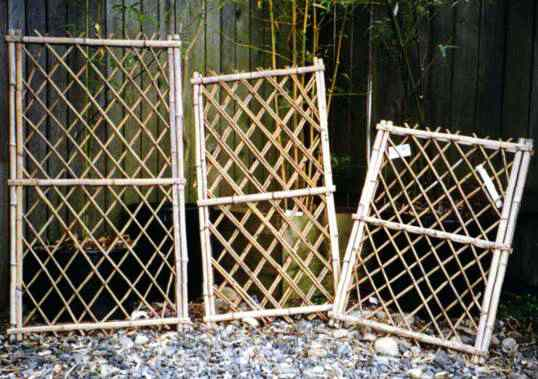 Bamboo Gardener Llc Bamboo Screens Fence Sections